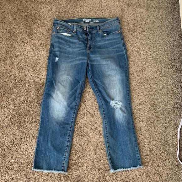 533a4300 Denizen from Levi's Jeans | High Rise Slim Crop | Poshmark